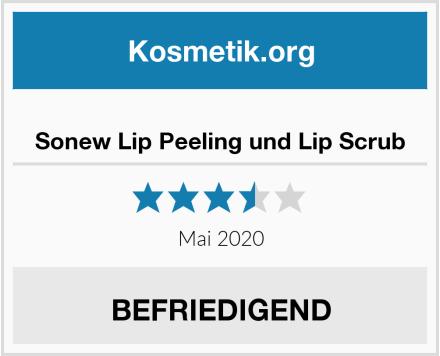 Sonew Lip Peeling und Lip Scrub Test