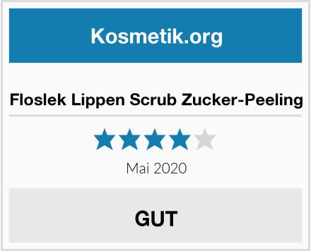 Floslek Lippen Scrub Zucker-Peeling Test