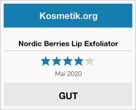 Nordic Berries Lip Exfoliator Test
