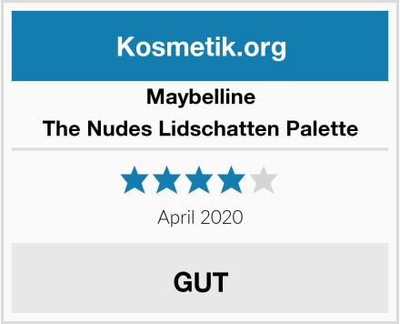 Maybelline The Nudes Lidschatten Palette Test