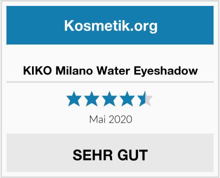 KIKO Milano Water Eyeshadow Test