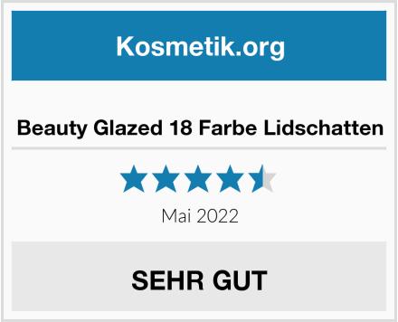 Beauty Glazed 18 Farbe Lidschatten Test