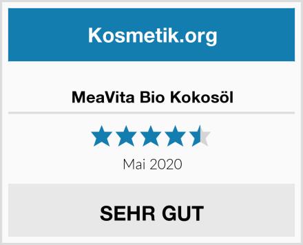 MeaVita Bio Kokosöl Test