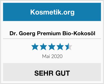 Dr. Goerg Premium Bio-Kokosöl Test