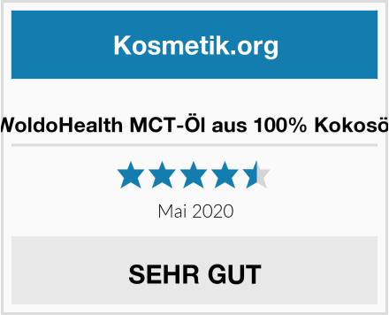 WoldoHealth MCT-Öl aus 100% Kokosöl Test