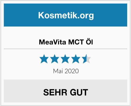 MeaVita MCT Öl Test