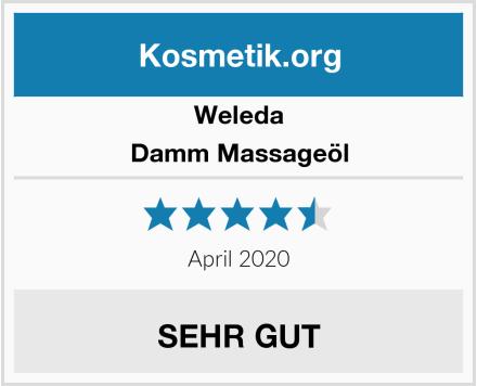 Weleda Damm Massageöl Test