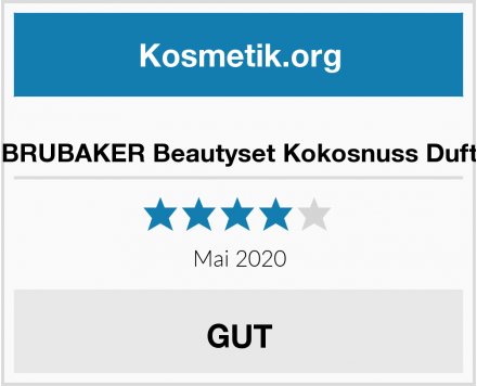 BRUBAKER Beautyset Kokosnuss Duft Test