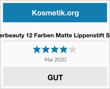 Perbeauty 12 Farben Matte Lippenstift Set Test