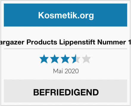 Stargazer Products Lippenstift Nummer 105 Test