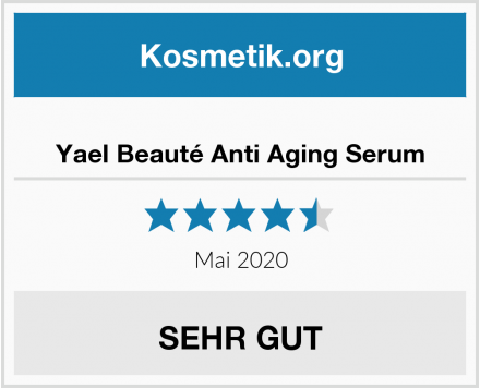 Yael Beauté Anti Aging Serum Test