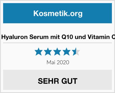 Marie Jardin Hyaluron Serum mit Q10 und Vitamin C hochdosiert Test