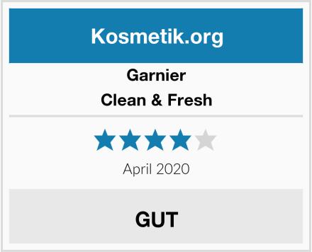 Garnier Clean & Fresh Test