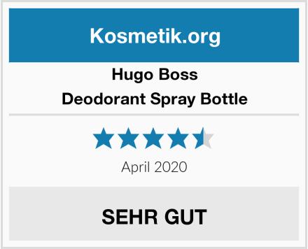 Hugo Boss Deodorant Spray Bottle Test