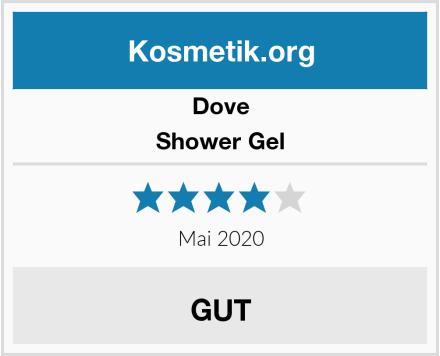 Dove Shower Gel Test