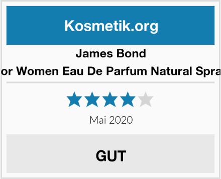 James Bond For Women Eau De Parfum Natural Spray Test