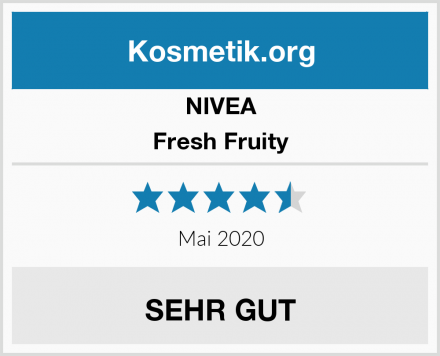 NIVEA Fresh Fruity Test
