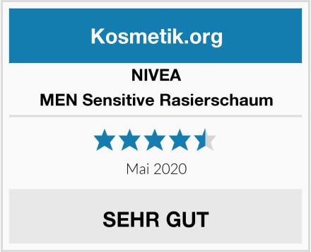 NIVEA MEN Sensitive Rasierschaum Test