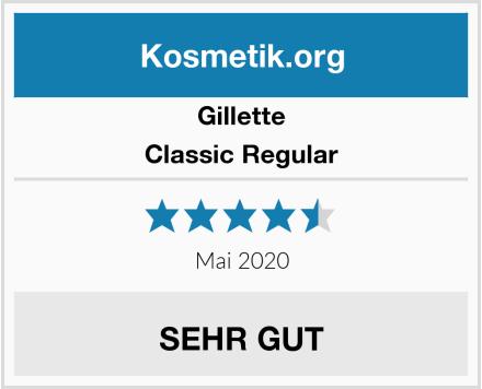Gillette Classic Regular Test
