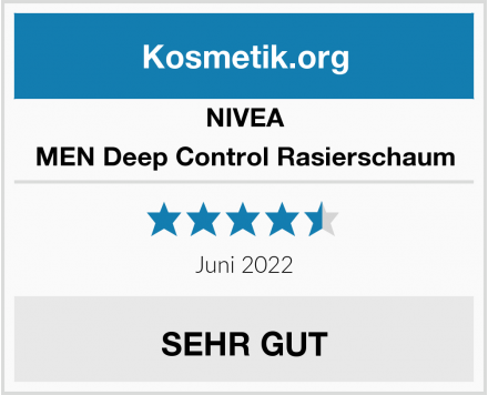 NIVEA MEN Deep Control Rasierschaum Test