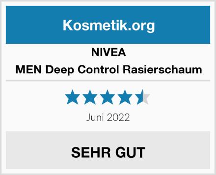 NIVEA MEN Deep Control Rasierschaum Test