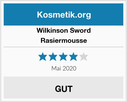 Wilkinson Sword Rasiermousse Test