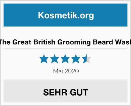 The Great British Grooming Beard Wash Test