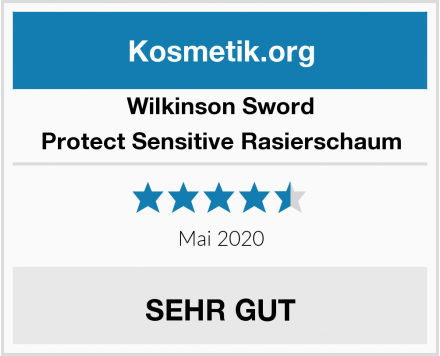 Wilkinson Sword Protect Sensitive Rasierschaum Test