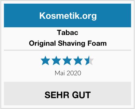 Tabac Original Shaving Foam Test
