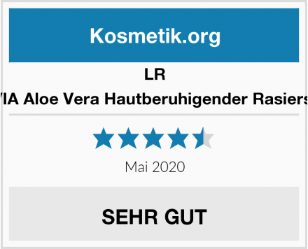 LR ALOE VIA Aloe Vera Hautberuhigender Rasierschaum Test