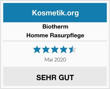 Biotherm Homme Rasurpflege Test