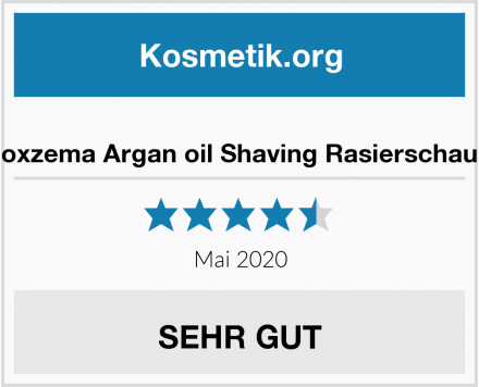 Noxzema Argan oil Shaving Rasierschaum Test