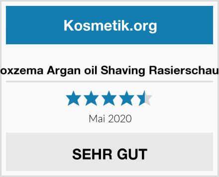 Noxzema Argan oil Shaving Rasierschaum Test