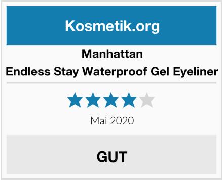 Manhattan Endless Stay Waterproof Gel Eyeliner Test