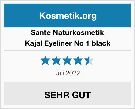SANTE Naturkosmetik Kajal Eyeliner No 1 black Test