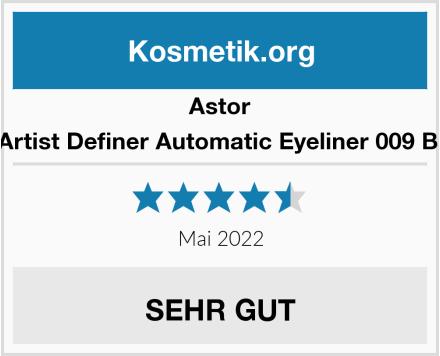 Astor EyeArtist Definer Automatic Eyeliner 009 Black Test