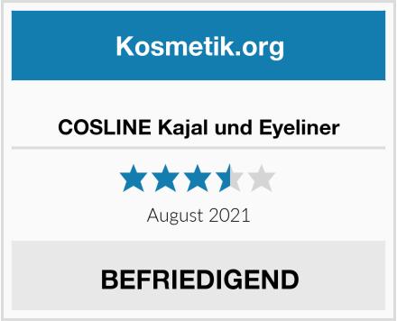 COSLINE Kajal und Eyeliner Test