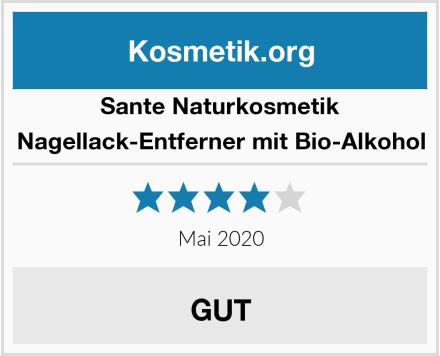 SANTE Naturkosmetik Nagellack-Entferner mit Bio-Alkohol Test