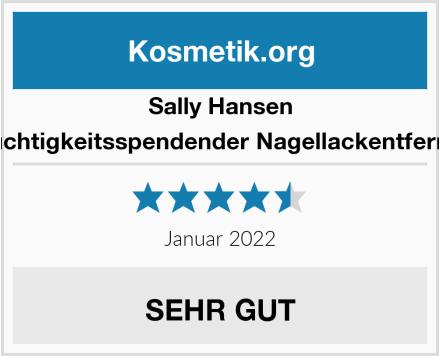 Sally Hansen feuchtigkeitsspendender Nagellackentferner Test