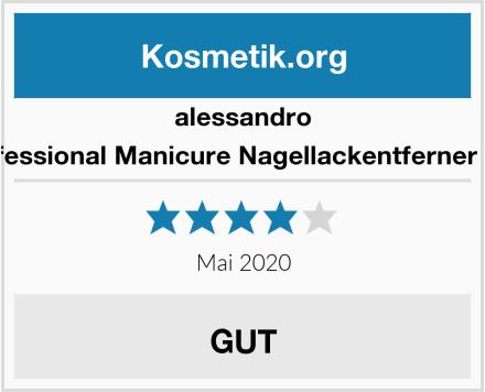 alessandro Professional Manicure Nagellackentferner Stift Test