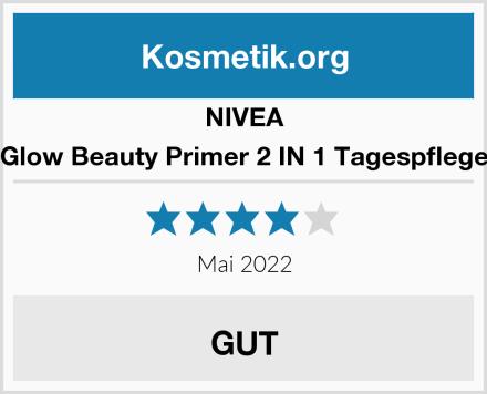 NIVEA Glow Beauty Primer 2 IN 1 Tagespflege Test