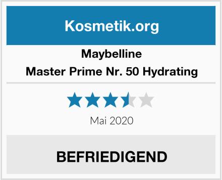 Maybelline Master Prime Nr. 50 Hydrating Test