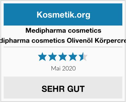 medipharma medipharma cosmetics Olivenöl Körpercreme Test