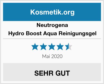 Neutrogena Hydro Boost Aqua Reinigungsgel Test