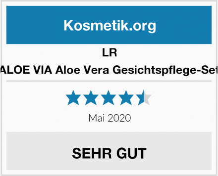 LR ALOE VIA Aloe Vera Gesichtspflege-Set Test