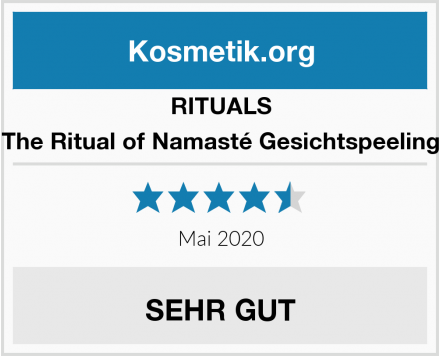 RITUALS The Ritual of Namasté Gesichtspeeling Test