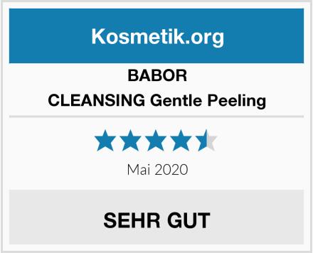 BABOR CLEANSING Gentle Peeling Test