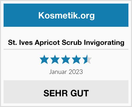 St. Ives Apricot Scrub Invigorating Test