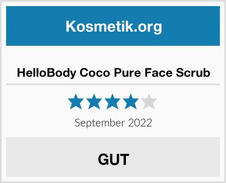 HelloBody Coco Pure Face Scrub Test