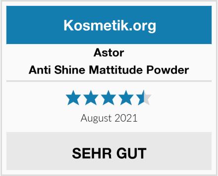 Astor Anti Shine Mattitude Powder Test